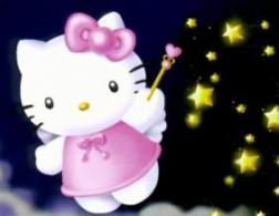 Hello Kitty as an angle