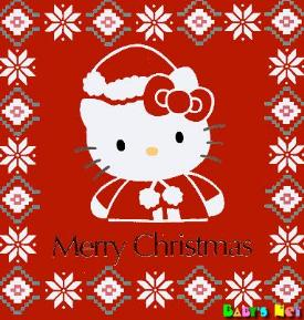 Hello kitty christmas greeting card 1 comment hello kitty christmas greeting card m4hsunfo