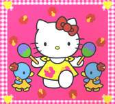 Hello Kitty dancing samba with friends