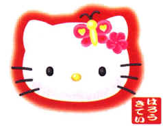 Hello Kitty face picture